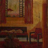 الغرفة الحمراء زيتي (1954)